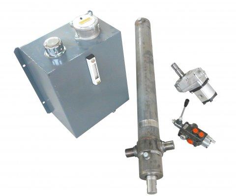 Kit hydraulique fendeuse, matériel forestier cms, fendeuse