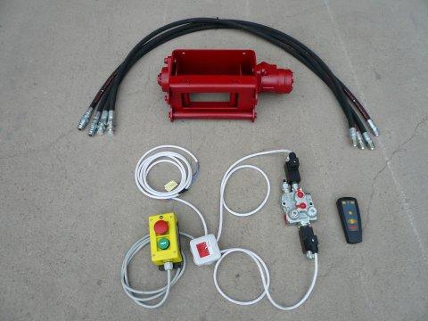 commande fendeuse  matériel forestier hydraulique CMS, kit fendeuse  ~ Kit Fendeuse A Bois