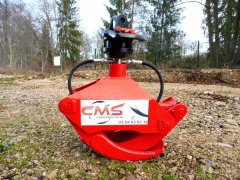 Grappin forestier 1m + rotator 3T